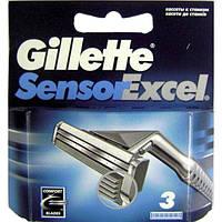 Картриджи Gillette Sensor Excel 3 шт