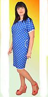 Легкое вискозное платье