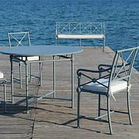 Комплект лаунж мебели в стиле Прованс из алюминия