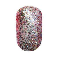 Гель-краска My Nail 69 прозрачная с разноцветными блестками, 5г