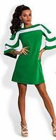 "Модное платье ""Moda star"" зеленого цвета. Размер S, M, L, XL"