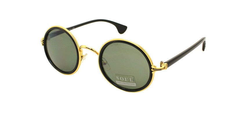 Круглые солнцезащитные очки Soul