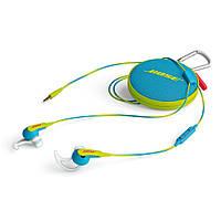 Наушники-гарнитура Bose SoundSport in-ear Neon Blue для Apple-устройств