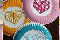 Вышивка на бумажных тарелках