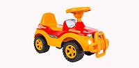 Детская каталка Джипик, оранжевая  ТМ Орион, 105 оранж