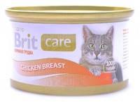 Консервы для кошек Brit Care Куриная грудка в соусе 80 гр.