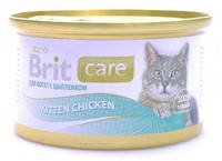 Консервы для котят Brit Care Kitten курица в соусе 80 гр.