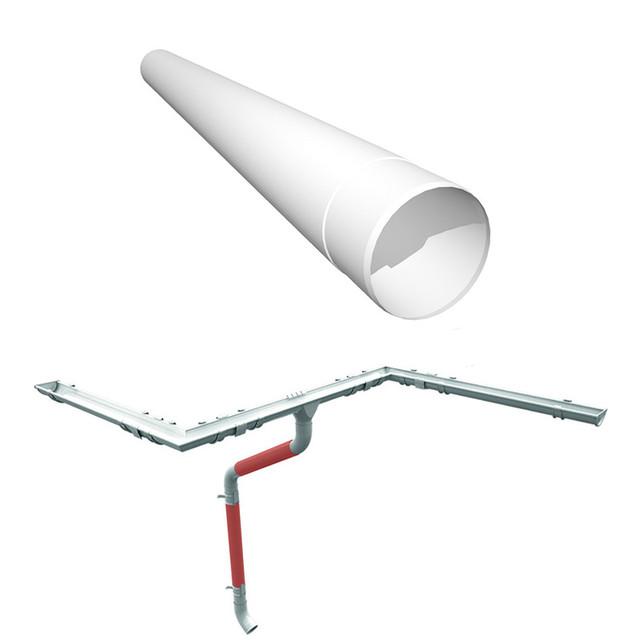 Водосточная труба металлическая Ruukki 125 мм., м.п.
