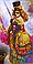 Схема для вышивки бисером POINT ART Таинственная девушка, размер 18х35 см