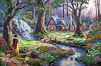 Схема для вышивки бисером POINT ART Сказочный лес, размер 50х33 см