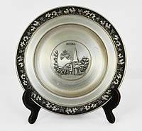 Тарелка оловянная сюжетная Олово, Германия