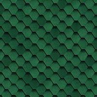 Битумная черепица SHINGLAS Классик Кадриль Соната Зеленый, фото 1