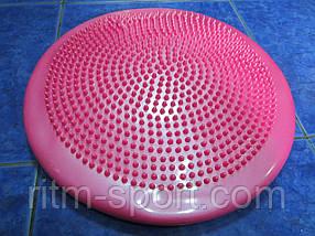 Подушка балансировочная  BALANCE CUSHION (резина, d-33см*5см)