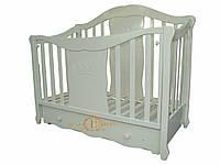 """Белая кровать для новорожденных """"Фантазия"""""""