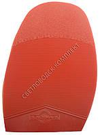 Подметка резиновая BENCHMARK-EURO, т. 2.8 мм, р.4 (большой), цв. красный