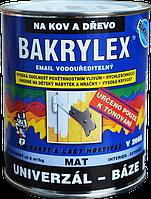 Водорастворимая эмаль для дерева и металла BAKRYLEX EMAIL UNIVERZÁL MAT BÁZE V2066