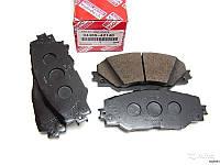 Тормозные колодки передние на Toyota Rav4 2005-2012 оригинал