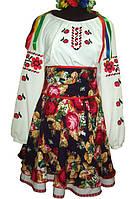Костюм украинский танцевальный девичий