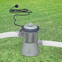 Intex 28602 фильтр-насос для наливных (от 244 до 305 см) и каркасных (305 см) 1250 л/час