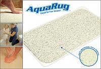 Коврик для ванной AquaRug. Противоскользящий коврик для ванной комнаты AquaRug