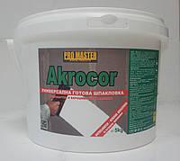 Готовая шпаклевачная смесь GBC Akrocor -25 кг ( Австрия)