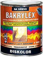 Водорастворимая тонкослойная лазурь для дерева с натуральным воском BAKRYLEX DISKOLOR BÁZE V2035