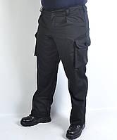 Штаны камуфляжные демисезонные однотонные (черные)