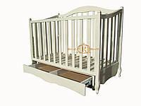 """Детская деревянная кроватка """"Грация лайт"""""""