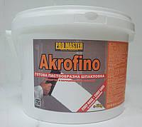 Шпаклевка финишная   Финишная шпаклевка готовая к применению   GBC Akrofino