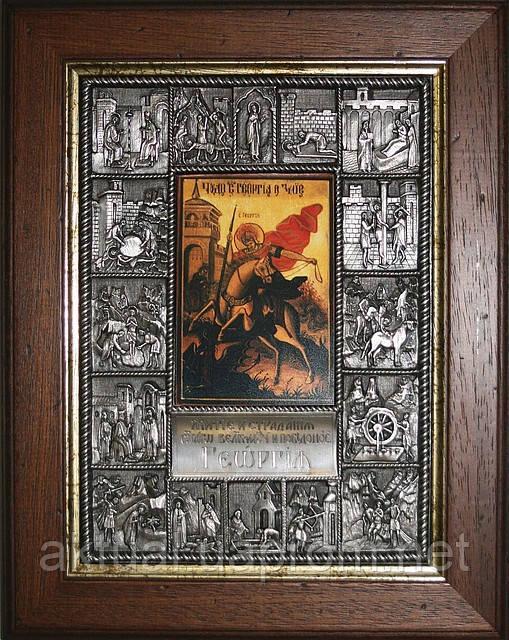 Икона Житие Георгия Победоносца