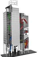 Зерносушилка непрерывного действия c верхним выбросом воздуха S4.WH