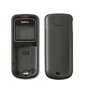 Корпус для Nokia 1202, High Copy, со средней частью, черный /панель/крышка/накладка /нокиа