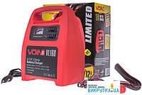 VOIN VL-160 6-12V 12A 9-120Ач стрелочный индикатор - зарядное устройство для АКБ