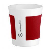 Фарфоровая кружка Mercedes Porclain Mug White Red, артикул B66952742