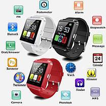 Часы наручные Smart Watch U80 Red, фото 2