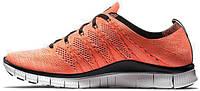 Мужские кроссовки Nike Free Flyknit Hot Lava, найк фри ран