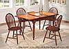 Стол  СТ364560 - Onder Mebli + 4 стула Winzor