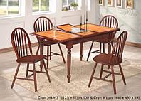 Стол  СТ364560 - Onder Mebli + 4 стула Winzor, фото 1