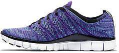 Мужские кроссовки Nike Free Flyknit NSW Court Purple, найк фри ран