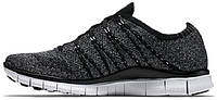 Мужские кроссовки Nike Free Run 5.0 Flyknit NSW Dark Grey, найк фри ран, флайкнайт