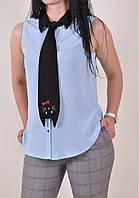 Блуза шифоновая женская PARKhande Размеры в наличии : 42,44,46,48 арт.9268 (производство Турция) (Код: 2500002