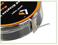 Кантал Twisted Clapton Tape Wire 26GA x 2 + 32GA (GeekVape) - 3 м