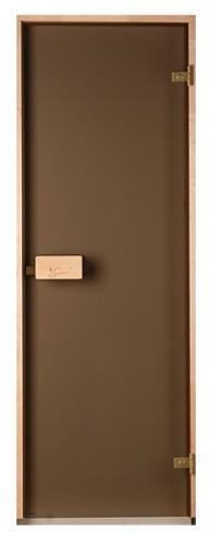 Стеклянные двери Saunax