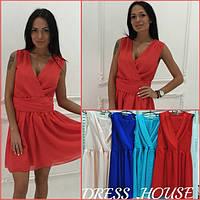 Шифоновое женское платье е-40268