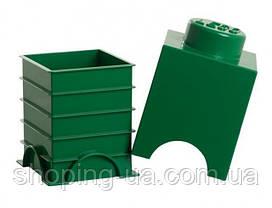 Одноточечный зеленый контейнер для хранения Lego PlastTeam 40011734, фото 2