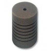 Губка круглая для внутреннего фильтра серая 15 см