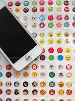 Наклейки на кнопку home для Iphone (!!!300 шт. Вместо 330 шт.!!!), (украшение для любого гаджета и не только)
