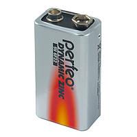 Батарейка Perfeo 6F22 9V, Dynamic zinc, Shrink/1