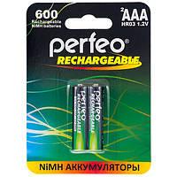 Аккумулятор Perfeo HR03 ААА 1,2V 600 mAh, NiMH