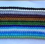 Бусина Шар цвет прозрачный 8 мм, фото 4
